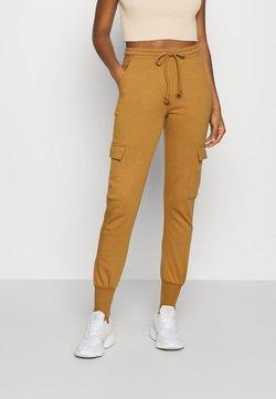 Vero Moda - VMMERCY PANT - Jogginghose - tobacco brown