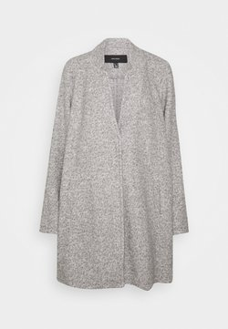 Vero Moda Curve - VM BRUSHED KATRINE - Short coat - light grey melange