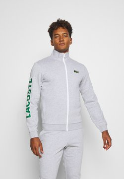 Lacoste Sport - TRACKSUIT - Trainingsanzug - silver chine/green/white