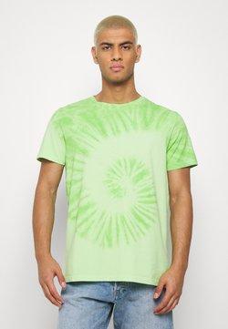 Redefined Rebel - RRCARSON TEE - T-shirt z nadrukiem - paradise green