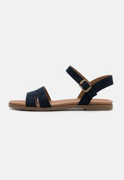 New Look Wide Fit - WIDE FIT GREAT - Sandales - navy