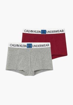 Calvin Klein Underwear - 2 PACK - Shorty - red/mottled grey