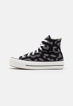 Converse - CHUCK TAYLOR ALL STAR LIFT - Zapatillas altas - black/grey/white