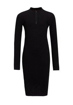 WE Fashion - MET TAPEDETAIL - Etui-jurk - black