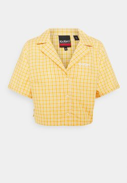 Kickers Classics - CHECK CROPPED - Koszula - yellow