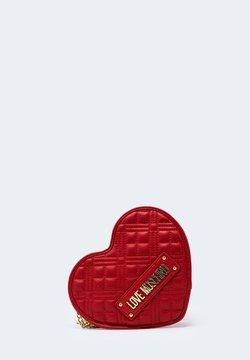 Love Moschino - FORMA CUORE - Borsa a tracolla - red