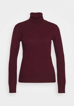 pure cashmere - TURTLENECK - Strickpullover - burgundy