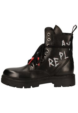 Replay - Plateaustiefelette - black