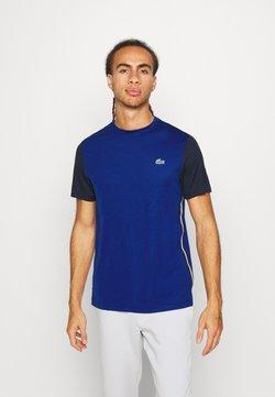 Lacoste Sport - TENNIS - T-shirt imprimé - cosmic/navy blue