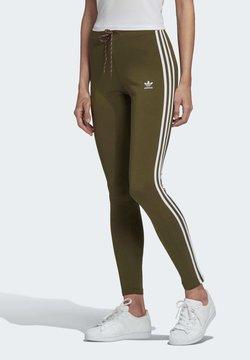adidas Originals - LEGGINGS - Leggings - green