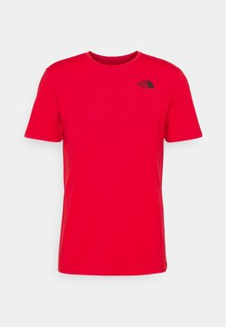 The North Face - FOUNDATION GRAPHIC TEE - Print T-shirt - red