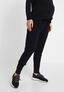 Cotton On Body - DROP CROTCH STUDIO PANT - Pantalones deportivos - black