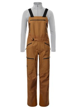 The North Face - Salopette - timber tan