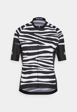 8848 Altitude - ELLA BIKE JUNGLE - T-Shirt print - zebra black