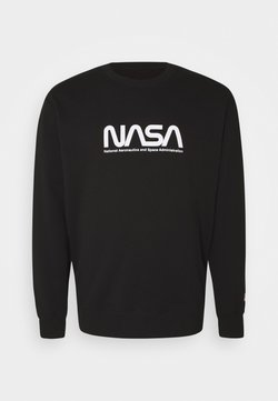 Cotton On - COLLAB CREW - Sweatshirt - black