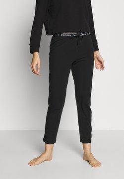 Calvin Klein Underwear - LOUNGE SLEEP PANT - Pyjamabroek - black