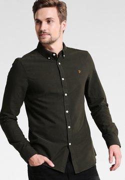 Farah - BREWER SLIM FIT - Overhemd - evergreen