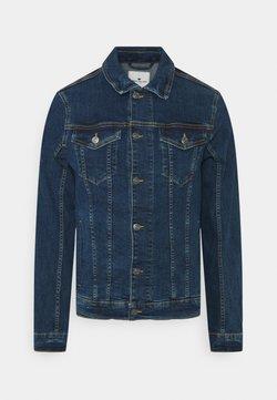 TOM TAILOR - TRUCKER JACKET - Veste en jean - mid stone wash denim