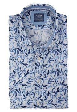 OLYMP - Hemd - blue/white