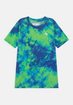 Abercrombie & Fitch - T-Shirt print - blue/green