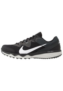 Nike Performance - JUNIPER - Zapatillas de trail running - black/white/dark smoke grey/grey fog