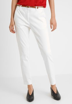 b.young - DAYS CIGARET PANTS  - Chinot - off white