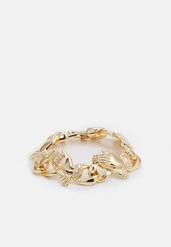 Urban Classics - PRAY HANDS BRACELET UNISEX - Bracciale - gold-coloured