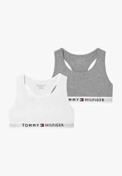 Tommy Hilfiger - 2 PACK - Brassière - grey