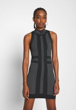 Nike Sportswear - AIR  - Vestido de tubo - black/white