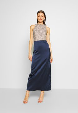 Lace & Beads - SAOIRSE MAXI - Ballkleid - navy/nude/silver
