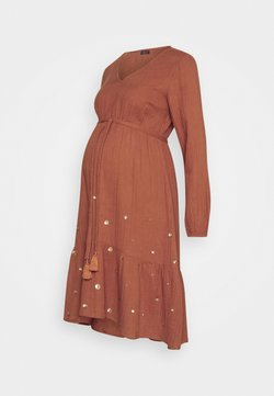 Mara Mea - MOON MAGIC - Vestido informal - rust