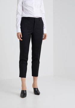 Filippa K - EMMA CROPPED COOL TROUSER - Pantalon classique - black