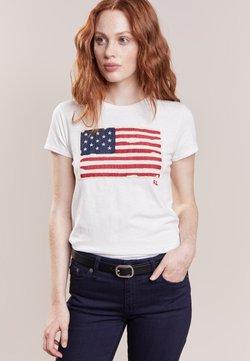 Polo Ralph Lauren - FLAG - T-Shirt print - nevis