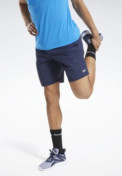 Reebok - TRAINING ESSENTIALS UTILITY SHORTS - kurze Sporthose - blue