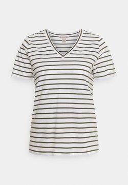 Anna Field - T-Shirt print - white / khaki