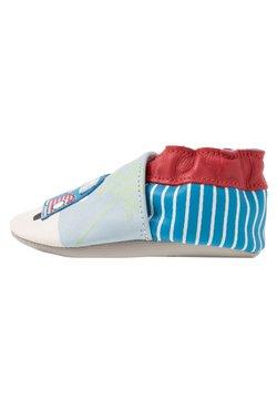 Robeez - ROAD TRIP - Chaussons pour bébé - bleu/beige/rouge