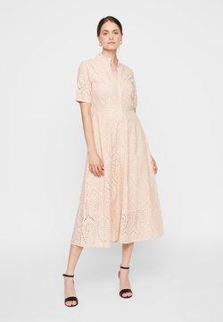 YAS - YASHOLI LONG  SHIRT DRESS  - Maxi dress - cameo rose