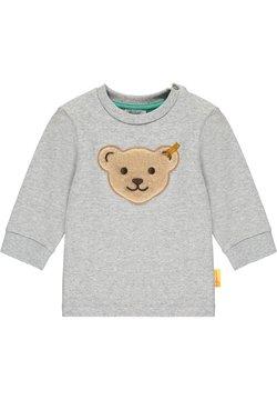 Steiff Collection - HIGH FIVE MIT KLASSIKER BÄR - Sweater - soft grey melange