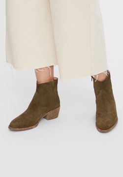 Bianco - BIADAVALYN - Ankle Boot - olive