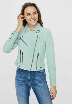 Vero Moda - Veste en cuir - jadeite