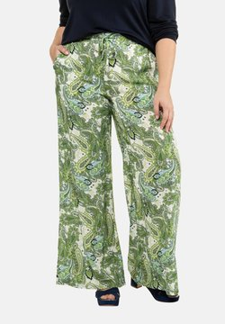 Ulla Popken - Broek - light green