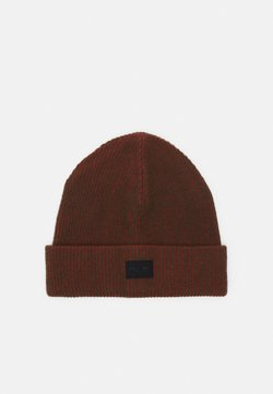 rag & bone - FINCH BEANIE UNISEX - Beanie - red/green