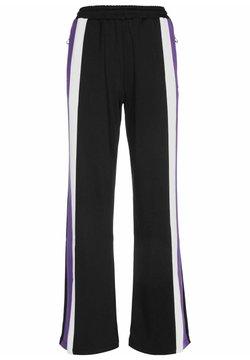 Fila - Jogginghose - black/ultra violet