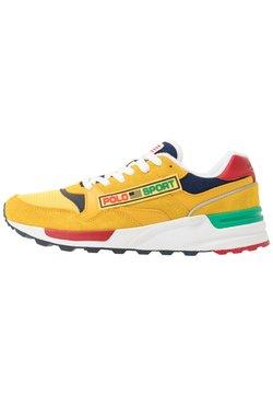 Polo Ralph Lauren - Sneaker low - chrome yellow