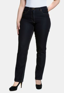 Ulla Popken - STRETCH  - Straight leg jeans - darkblue