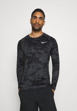 Nike Performance - Tekninen urheilupaita - iron grey/white