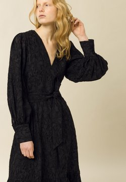 IVY & OAK - PAPAYA - Vestido de cóctel - black