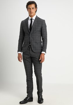 Lindbergh - MENS SUIT SLIM FIT - Anzug - grey check