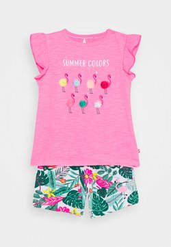 Staccato - BABY SET - T-shirt print - pink/multi coloured