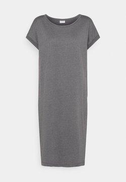 Vila - VIDREAMERS KNEE DRESS  - Vestido ligero - medium grey melange